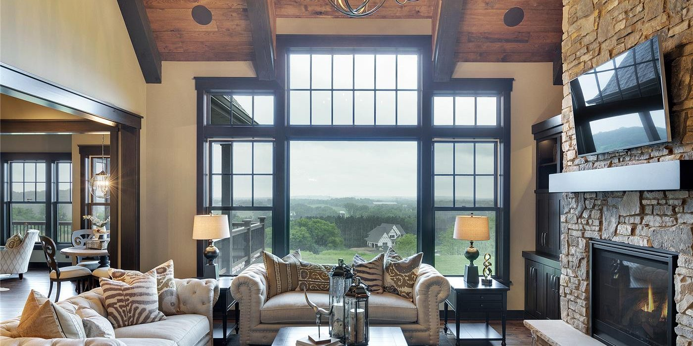Marvin integrity window family room case study